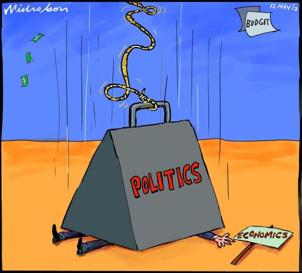 Death, Taxes & Politicians'Friggin'omics