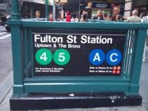 fulton st subway
